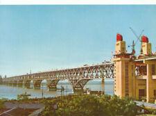 China Postcard - The Yangtse River Bridge at Nanking - Ref 8232A