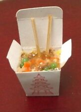 Dollhouse Miniature Bright deLights Stir Fry in Chinese take out 1:12 scale