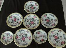 REDUCED!!!!   Vintage Rudolstadt B Crown Mark Germany 6 Plates and 2 Saucers