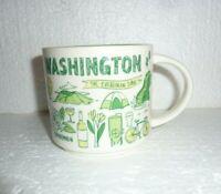 Starbucks Washington Been There Series 14oz Coffee Mug Cup Global Collection