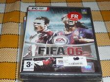 PC DVD ROM FIFA 2006 NEW sealed RARE Win XP 2000 French EA Sports