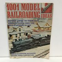 1001 Model Railroading Ideas Magazine Back Issue Winter 1971 Sierra Short Line