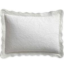 """Royal Velvet Coralie Standard Sham 19""""x26"""" Cool White"""