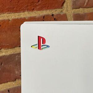 PS5 Retro Playstation Logo Vinyl Sticker Decal Skin Underlay