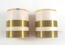 2x Aluminum wire voice coil For JBL 2262HPL,JBL 2265HPL,JBL 2268HPL,JBL SRX