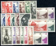 DAHOMEY 1941 Yvert 120-141 ** POSTFRISCH TADELLOS SATZ (F3607