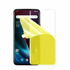 3D Hydrogel Film For Oneplus 7 Pro TPU Screen Protector Clear GEL Soft d6 ca