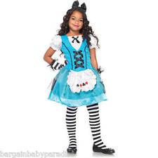 NWT Wonderland Costumes Playing Card Alice Girls Costume Medium 8-10