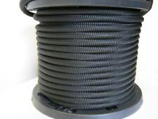 "3/8"" 1000 ft Bungee Shock Cord Black Marine Grade Heavy Duty Shock Rope Tie Down"