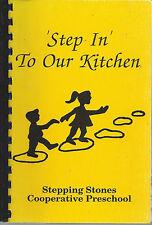 *Tipp City Oh 1990 Stepping Stones Cooperative Preschool Cook Book *Ohio Recipes