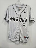 VTG Nike NCAA Purdue University BOILERMAKERS #8 Baseball Game Jersey Mens 38 S
