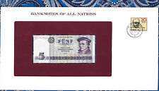 Banknotes of All Nations East Germany 1975 5 Mark UNC P27b ZI707535 Replacement