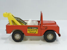 Landrover Tri-ang Mini Hiway Tinplate Service Truck Car Tintoy Blech 60er Jahre