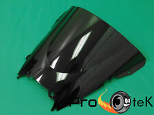 1999-2002 Yamaha YZF R6 ABS Smoke Black Double Bubble Windscreen Windshield