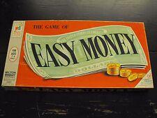 Vintage Easy Money Real Estate Game - Milton Bradley 4620