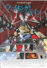 Waking Life Japanese Chirashi Mini Ad-Flyer Poster 2001 Linklater