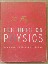 Feynman Lectures on Physics Vol 1 1965 Hardcover * Mechanics Radiation & Heat