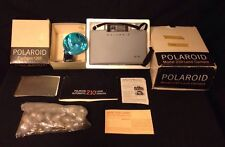 MODEL 210 Polaroid Artists Instant Packfilm Land Camera w Flashgun 268 Boxed