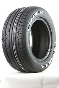 Vitour 215/50R13 84H Formula Pro Street Tyre Raised White Lettering Classic