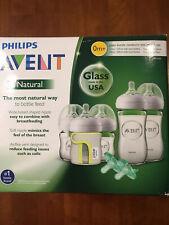 Philips AVENT Natural Glass Bottle Newborn Baby Starter Gift Set
