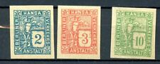 Berlin Hansa Stamps Set Imperf K050