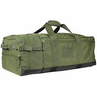 NEW CONDOR #161 Tactical Colossus Duffle Shoulder Backpack Bag Case OD Green
