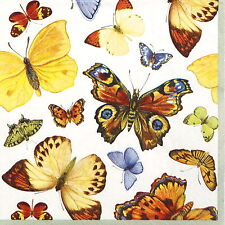 Papel 4x Servilletas Para Decoupage Decopatch Craft volando mundo