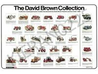 The David Brown Collection (A3) David Brown Case Tractor Poster Brochure Tractor