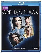 ORPHAN BLACK - SEASON 5   -  Blu Ray - Sealed Region free