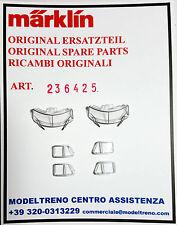 MARKLIN 236425 SET VETRI CABINA   FENSTEREINSATZ 3053 3054 37573 37574 DB 03/103