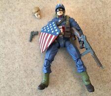 """Marvel Legends Ultimate Captain America WW2 6"""" MCU Action Figure"""
