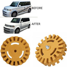 1 Pcs Car Sticker Rubber Wheel Decals Faster Removal Tool won't Gouge Paintwork
