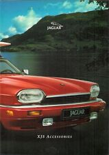 Jaguar XJS Accessories 1993 UK Market Sales Brochure 4.0 6.0 Coupe Convertible