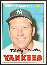 1967 Topps Mickey Mantle #150 NY New York Yankees Baseball Card EX