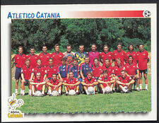 PANINI CALCIATORI FOOTBALL Adesivo 1997, n. 629-ATLETICO CATANIA SQUADRA GRUPPO