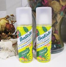 2 x BATISTE Dry Shampoo - Tropical - Mini 50 mL