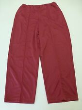 Blair Womens Size 20W Dark Pink Elastic Waist Casual Pants New