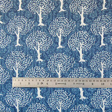 Indian Hand Block Printed Cotton Fabric Tree Of Life Cloths Christmas 5 Yards