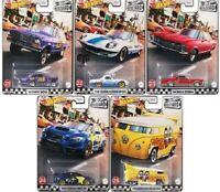 Hot Wheels Boulevard Chevy Buick Mazda Volkswagen Drag Bus Subaru  lot 5 (cart)