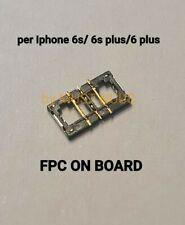 CONNETTORE BATTERIA SU SCHEDA MADRE PER APPLE IPHONE 6S 6S plus 6 plus ON BOARD