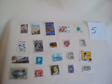 VINTAGE USED MAIL STAMPS LOT # 5