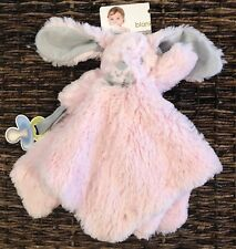 Blankets and Beyond Bunny Rabbit Pink Security Blanket Lovey