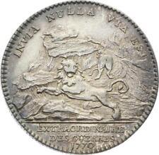 O3866 Rare Jeton Louis XVI Ville de Paris 1774 La Seine Argent SUP ->Make offer