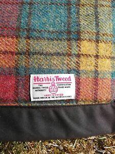 Harris Tweed Picnic Rug FREE POSTAGE