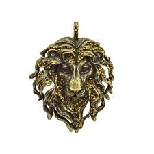 Kirks Folly Aslan Lion King Pendant (Brasstone) with KF Gift Box