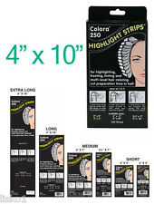 Colora 250 Highlight Strips 4 X10 HIGHLIGHT-TINTING STRIPS 1-Pack of 250