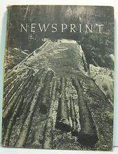 Copyright 1939 NEWSPRINT. International Paper Sales Company, Montreal, Canada