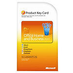 Microsoft Office Home and Business 2010 Product Key Card Download - Lot of 2