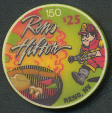 Reno Hilton $25 Chip 1998 Chili Cookoff Limited Edition #150 of 200
