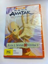 Avatar The Legend of Aang: Book 1 Water - Volume 1 Region4 DVD - BRAND NEW